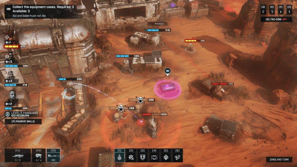 Gears Tactics granata