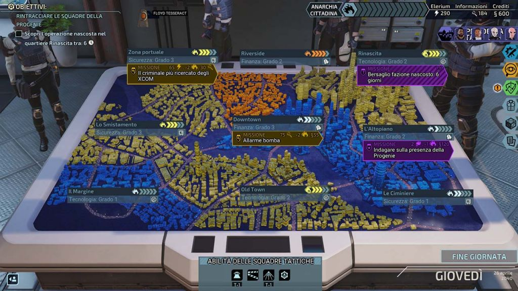 XCOM: Chimera Squad Città 31
