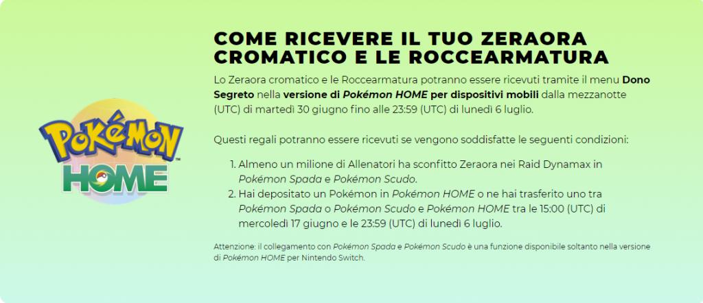 Pokemon Condizioni Zeraora