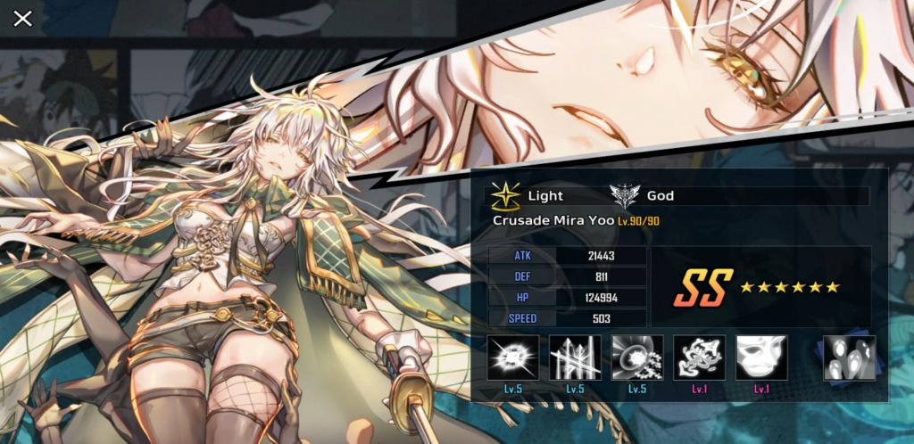 Hero Cantare Tier List Crusade Mira Yoo