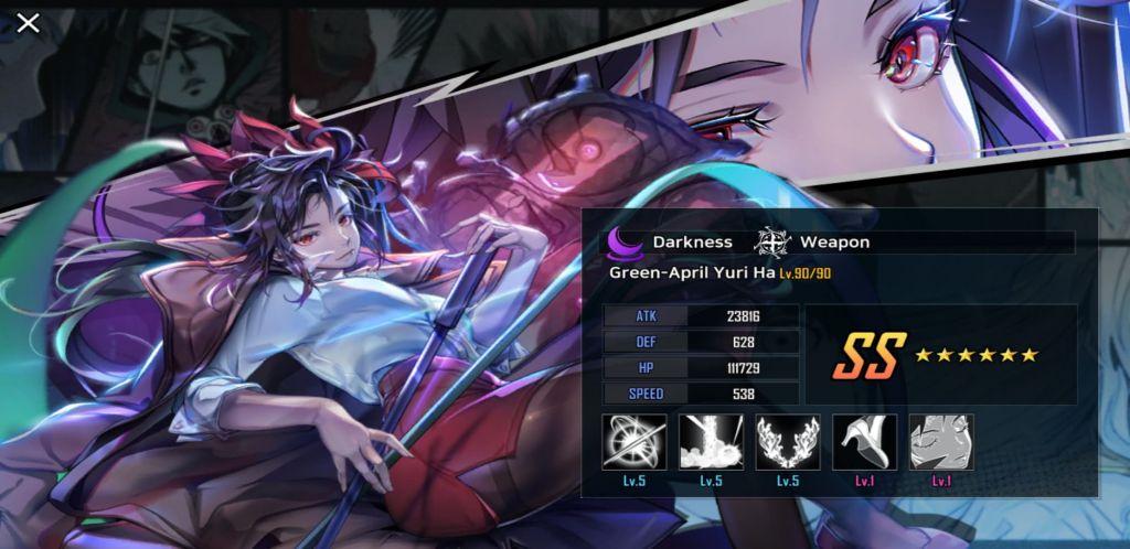 Hero Cantare Tier List Green April Yuri Ha