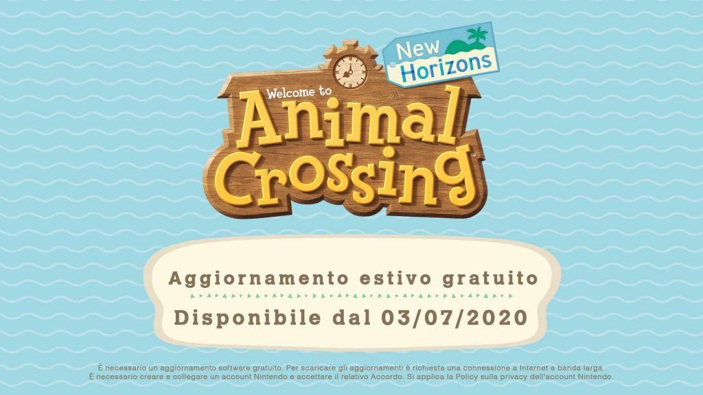 Anima Crossing Aggiornamento Estate 1