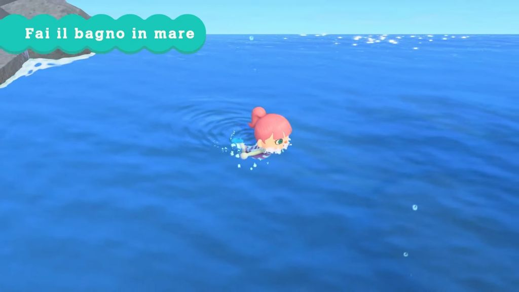 Animal Crossing Nuoto