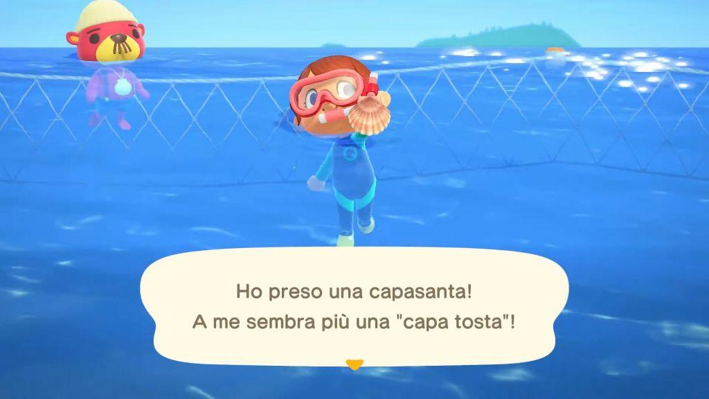 Animal Crossing Animali Acquatici