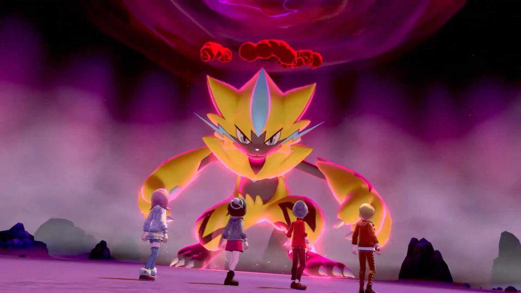 Pokemon Spada e Scudo Zeraora Raid Dynamax